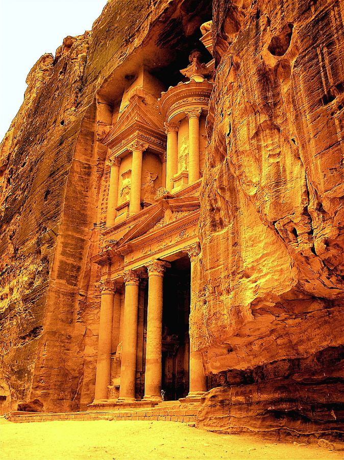 Petra is ravaged by attila the hun - 2 4